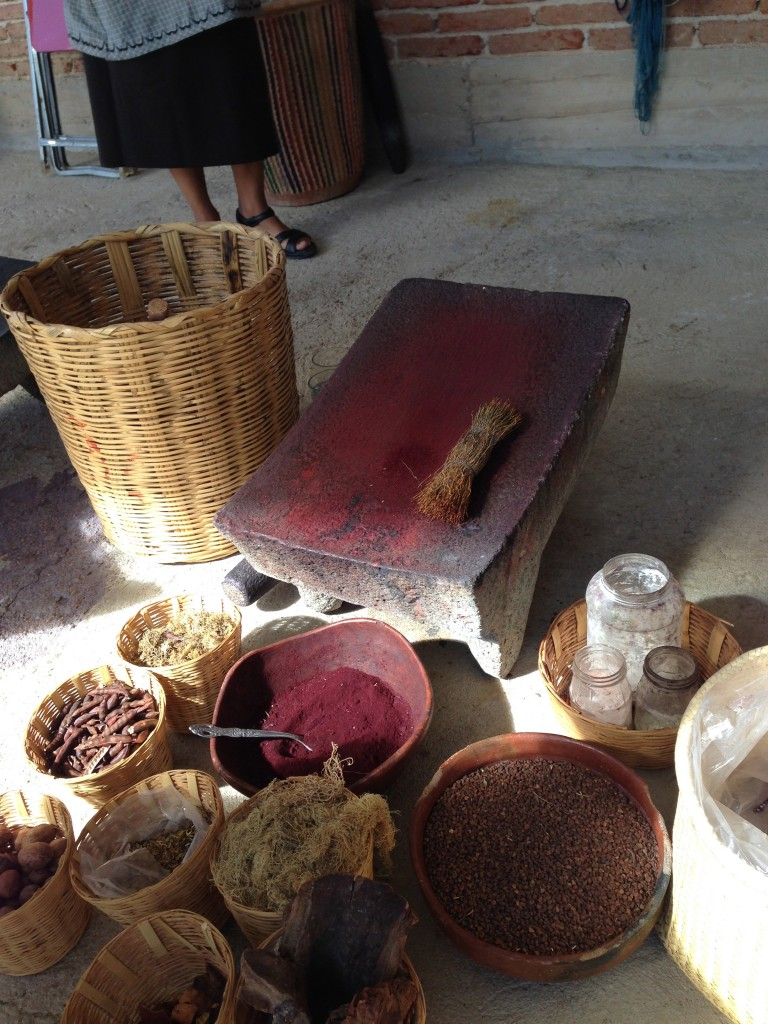 natural ingredients to make the dyes